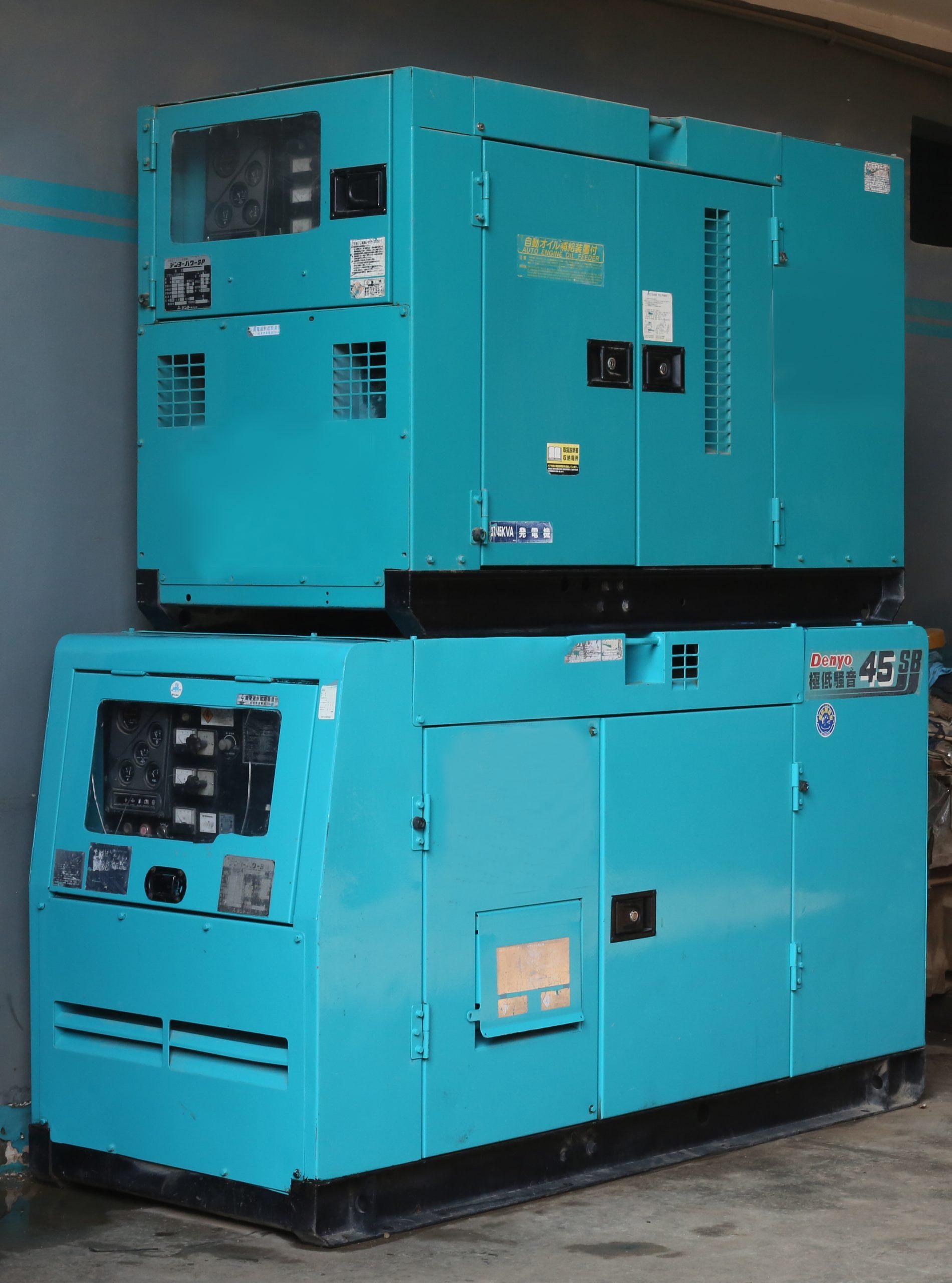 Low capacity generators