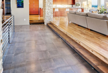 Flooring with Tiles in Duplex Houses.
